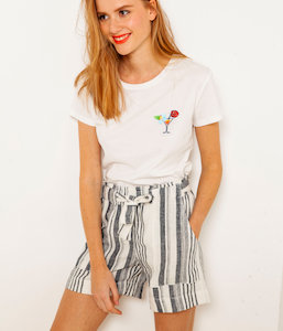T-shirt personnalisé patch cocktail