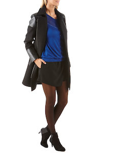 Cardigan femme maille pointelle