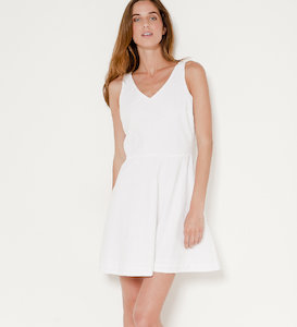 Robe corolle broderie anglaise