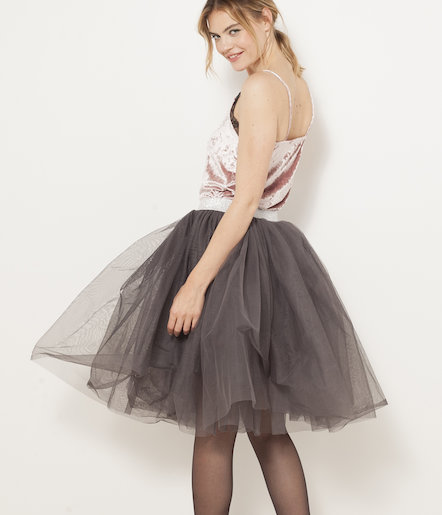 Jupon tulle femme
