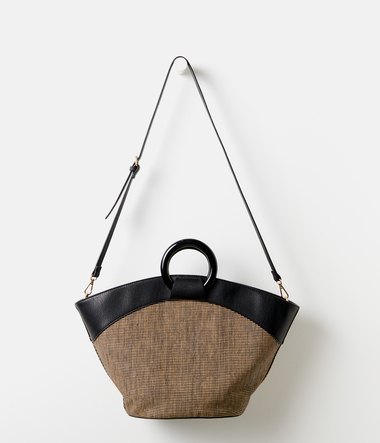 Sac cabas anses rondes femme