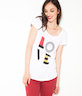 T-shirt femme message Love