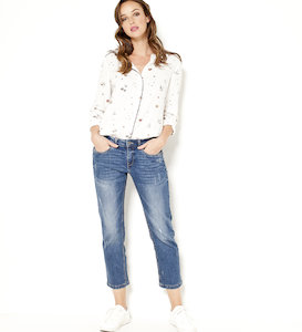 Jean femme relaxed fit