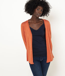 Pull maille rayée femme
