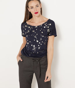 T-shirt constellation femme