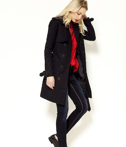 Trench femme long