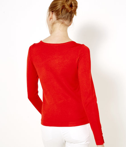 Pull fine maille femme