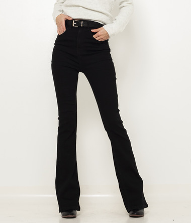 Jean flare femme